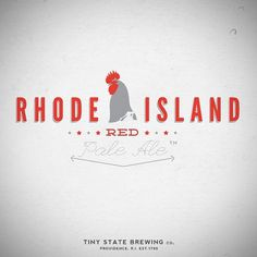 Rhode Island Red Pale Ale | Flickr - Photo Sharing! #beer #island #rhode #typography