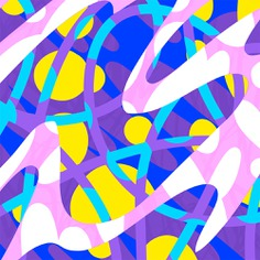 Experimental graphic pattern for key visuals designed by Andrei Robu www.robu.co