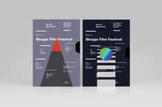 Skopje Film Festival 2014 #design #graphic #posters