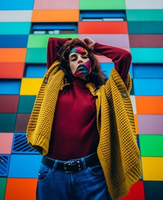 Vibrant, Moody And Dreamlike Portrait Photography by Sergio Espinoza