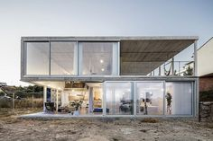 Low Budget House Collected in a Single Structural Gesture 11