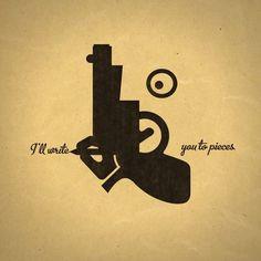 tumblr_ls9yaza6fA1qdvruqo1_r1_1280.jpg 1.280×1.280 pixels #artwork #gun