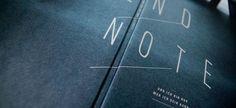 endnote / Raffael Stüken / Büro für Grafik Design #cover #art