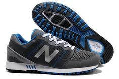 Mens new balance 751 Black Grey Silver mesh running Sneakers