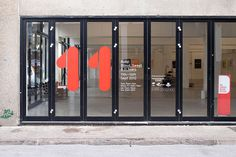Designed Space » Blog Archive » Build #typography #exterior #workplace #outdoors