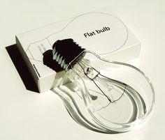 flat bulb, nsmbl.nl #bulb #lamp