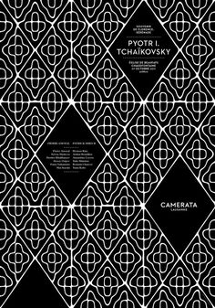 Camerata : DEMIAN CONRAD DESIGN #white #pattern #shapes #black #clean #rounded