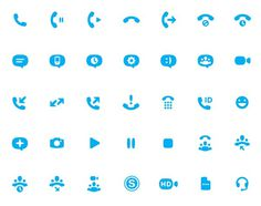 Skype icons by Buzz Usborn