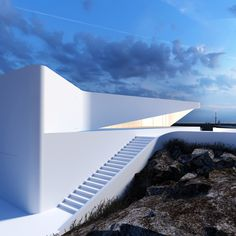 Architectural Concepts by Roman Vlasov | Inspiration Grid | Design Inspiration #architecture #white