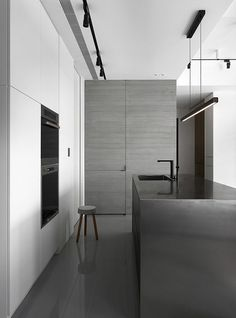 39 sqm Contemporary Apartment Personalized in Gray and White 6