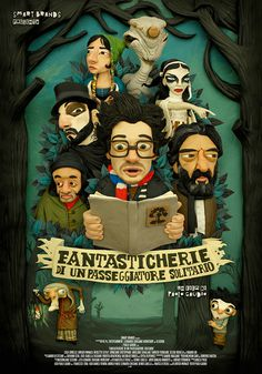 Fantasticherie Poster Art #illustration #design #graphic #poster