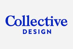 Collective Design by Mother Design #logotype #logo #typography