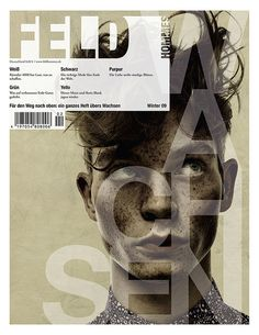The autumn/winter issue of Feld Hommes magazine #magazine