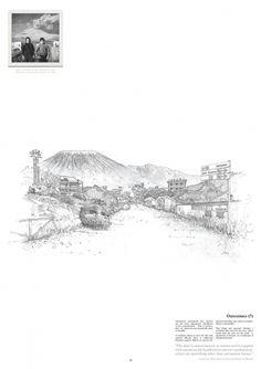 keiralexander_napolietc_saviourshill_sm-9.jpg (1414×2000) #line #vesuvius #illustration #volcano #keir #hotel #drawing #grey