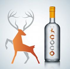 Coco Vodka on the Behance Network