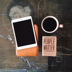 otes #phone #notes #leather #coffee #sketch