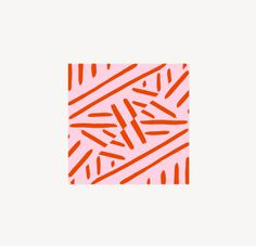 patterns that happened (may series) - 2 #pattern #red #lines #pink #print #design #stripes #textiles #illustration #leriquiqui #minimal #art