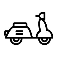 See more icon inspiration related to scooter, vespa, motorcycle, motorbike, transportation and transport on Flaticon.