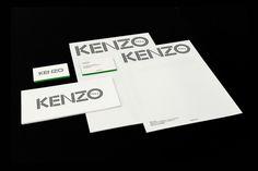 Meiré und Meiré: Kenzo Corporate Identity #branding #stationery