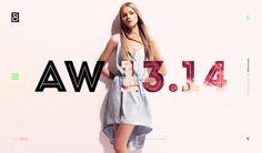 P/B #woman #design #minimal #art #fashion #type #layout #web