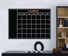Peel And Stick Chalkboard Wall Decal #decal #gadget #home