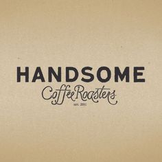 PTARMAK | design | austin, u.s.a. #handsome coffee roasters #ptamak