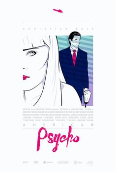 American Psycho Alternative Movie Poster
