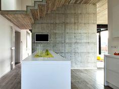 Giraldi Associati Architetti Design a Concrete House in Bologna -#decor, #interior, #homedecor, home decor, interior design