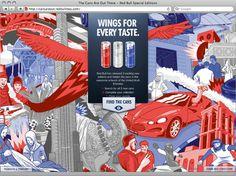 Red Bull on Behance