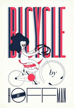 bicycle #poster #typography