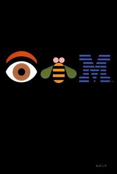 ibm.jpg 800×1184 pixels #classic #bee #rand #eye #ibm #m #paul