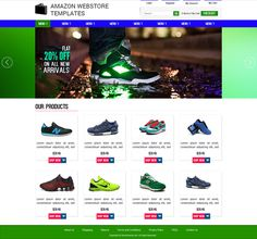 Customize Your Amazon Webstore Templates with our serivce and watch your sales grow due to more and more visitors choosing your site and tur #amazon #design #templates #webstore #template