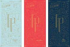 Fetcham Park by Kevin Cantrell #branding #typography #lettering #illustration #foil stamp