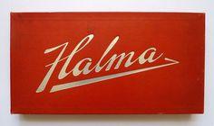 Halma #logotype #lettering #script #board #game #halma