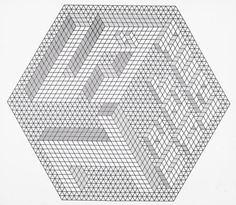 soggetti smarriti #black #white #geometric #labyrinth