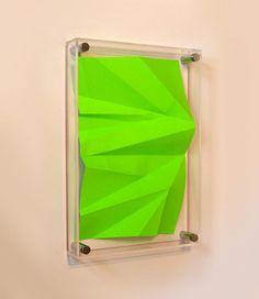 Heath West #fold #frame #paper