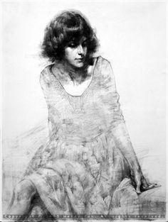Henry yan #paint #illustration #illustrator #woman