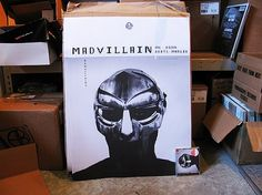 MADVILLAINY: THE POSTER | Stones Throw Records #madvillainy #poster
