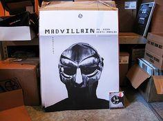 MADVILLAINY: THE POSTER | Stones Throw Records #madvillainy #poster