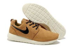 Nike Roshe Run Premium Shoe Hazelnut Oxford Brown Anthracite Sail White Mens #shoes