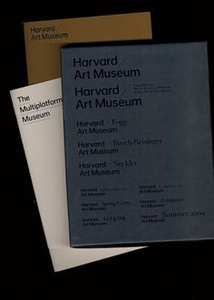 2 × 4: Project: Harvard Art Museum #packaging #type