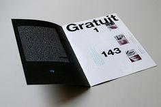 Gratuit #grid #print #magazine