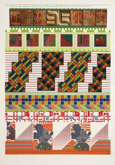 """A formula that can shatter into a million glass bullets"" (Sir Eduardo Paolozzi, 1967) #pattern #geometry #pop #color #1960s #poster #art"