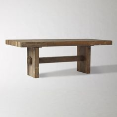 West Elm Table #table #desk #workspace