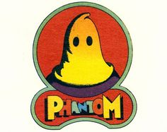 All sizes | Milton Glaser: Phantom Records (detail from envelope) | Flickr - Photo Sharing! #phantom #comic #record #illustration #company #logo