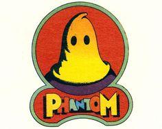 All sizes | Milton Glaser: Phantom Records (detail from envelope) | Flickr - Photo Sharing! #phantom #comic #record #illustration #company #logo