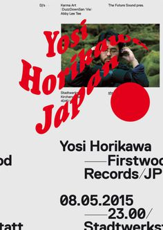 The Future Sound Yosi Horikawa Poster by Wolfgang Ortner os-austria.com