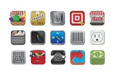 icons #rounded #app #set