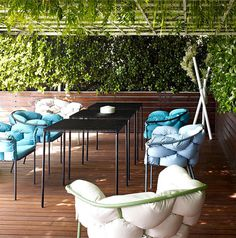 Outdoor Seating for Long Summer Evenings metal outdoor seating