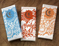 Design*Sponge » Blog Archive » moonstruck chocolate packaging #packaging #chocolate